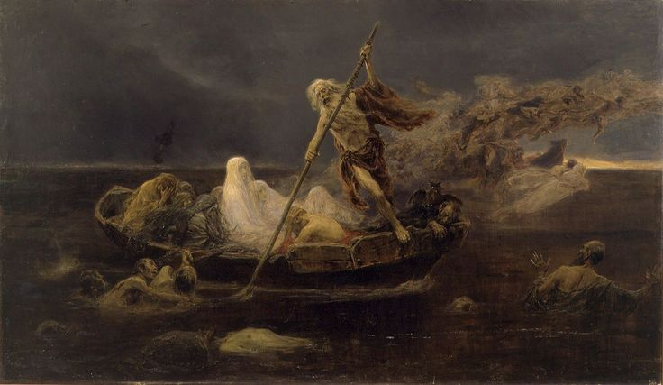 Charon: The ferryman to Underworld