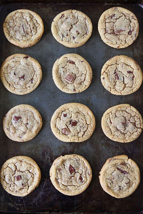 Brown Butter Toffee Chocolate Chunk Cookies Recipe