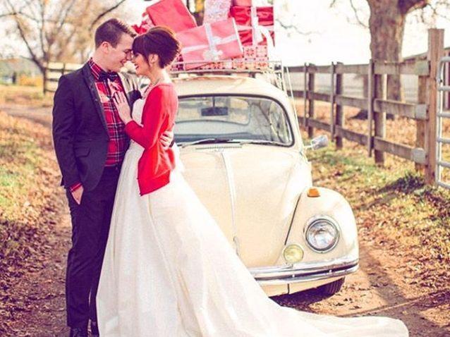 Imutnya Foto Pre Wedding Natal yang Bikin Kamu Meleleh