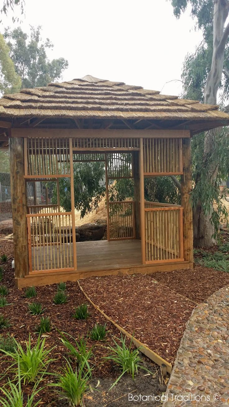 Hurstbridge Community Centre Kindergarten playspace where we utilised an off the shelf hut and infilled it to create a cubby.