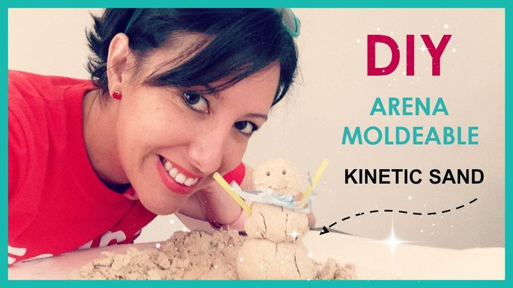 DIY Arena moldeable KINETIC SAND