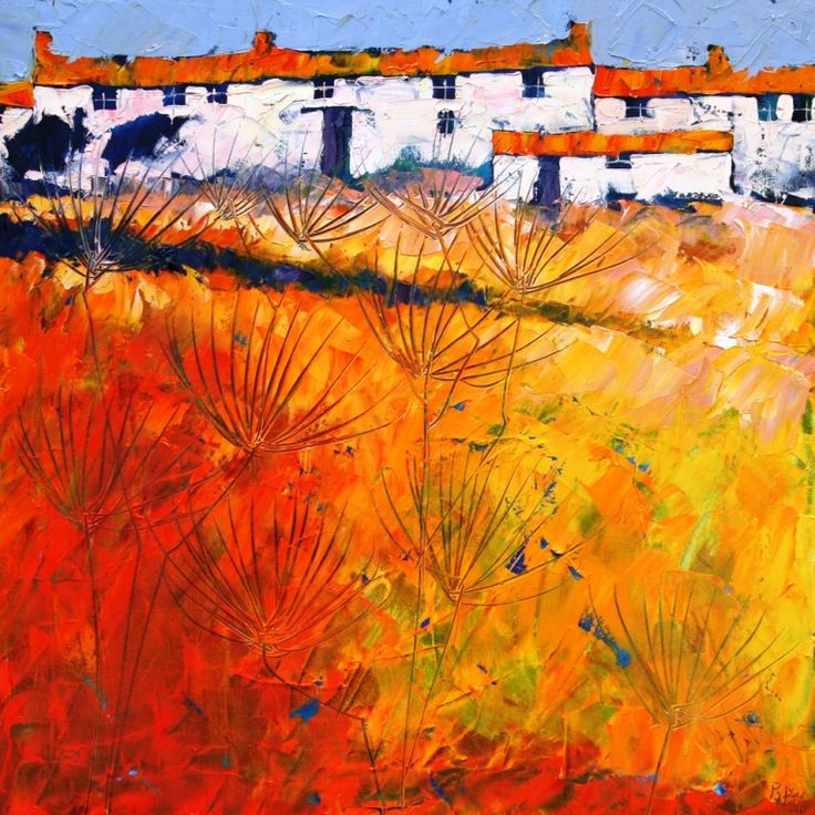 John Piper, Island Cottages