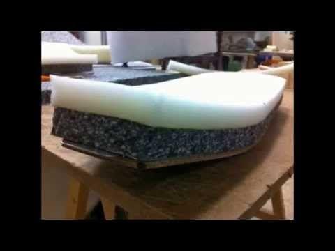 Como tapizar un asiento de moto en piel.(por Tapicerías Palma C.B) - YouTube