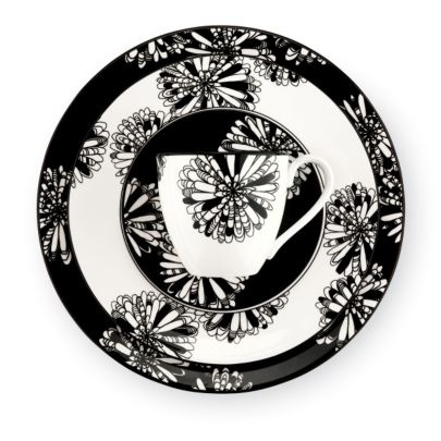 'St. Kitts Dogwood Collection' Kate Spade: Spade China, China Patterns, Black And White, Dogwood Points, Dogwood Collection, Kate Spade, Dogwood China, St. Kitt, Kitt Dogwood