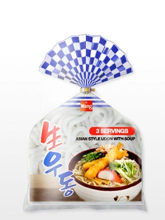 3,75€ 3 Raciones de Fideos Udon Coreanos con Sopa Shoyu