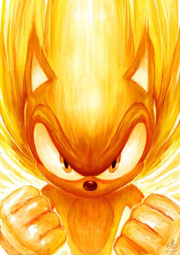Super Sonic By Ry Spiritdeviantart On DeviantArt