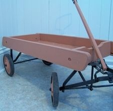 How to Build a Garden Wagon. This is exactly what I need to get things in and out of the house. Hmmm...