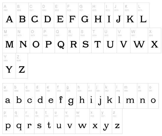 40 Free Serif Fonts for Digital Designers