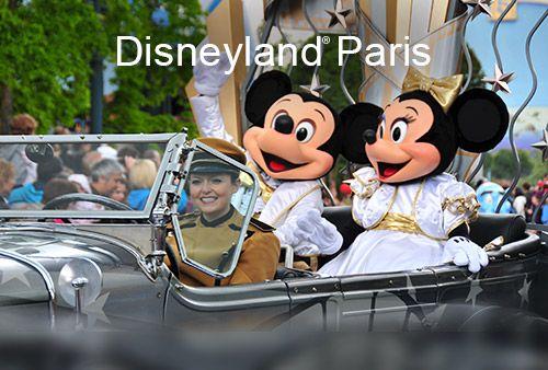 Take TGV® and Eurostar trains to Disneyland® Paris