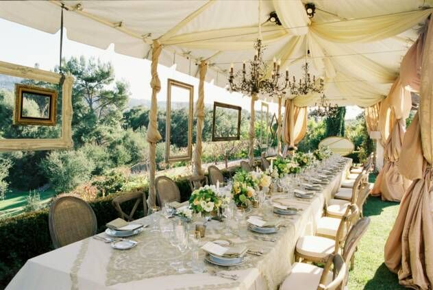 Love this for a wedding!!!!: Receptions Decor, Decor Ideas, Empty Frames, Parties Tent, Vintage Window, Vintage Frames, Pictures Frames, Hanging Frames, Outdoor Receptions