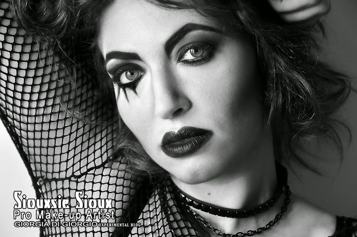 Make-up by Giorgia Di Giorgio Siouxie ispired