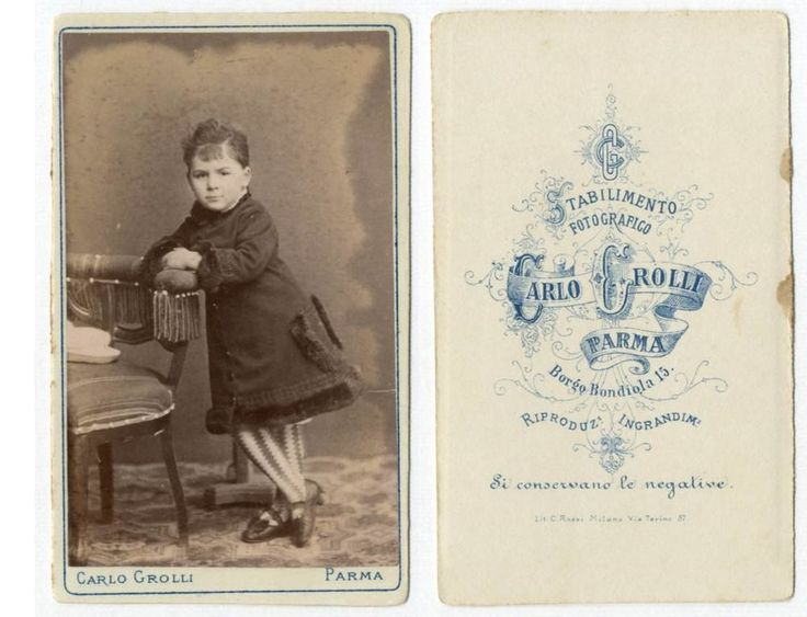 BIMBA CDV 842 Foto F.Gabinetto.Carte da Visite.Albumina.Moda.Carlo Grolli Parma