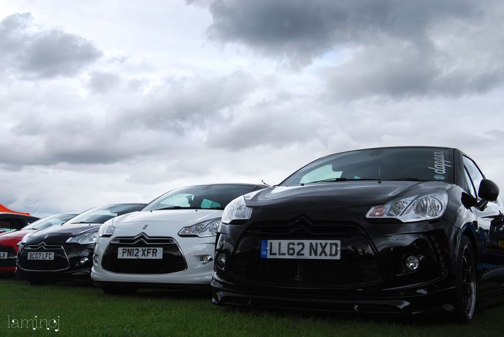 Citroen DS3's - Club at Trax show #DS3