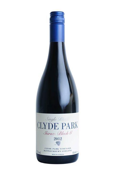 2012 Clyde Park Vineyard Block G Geelong Shiraz