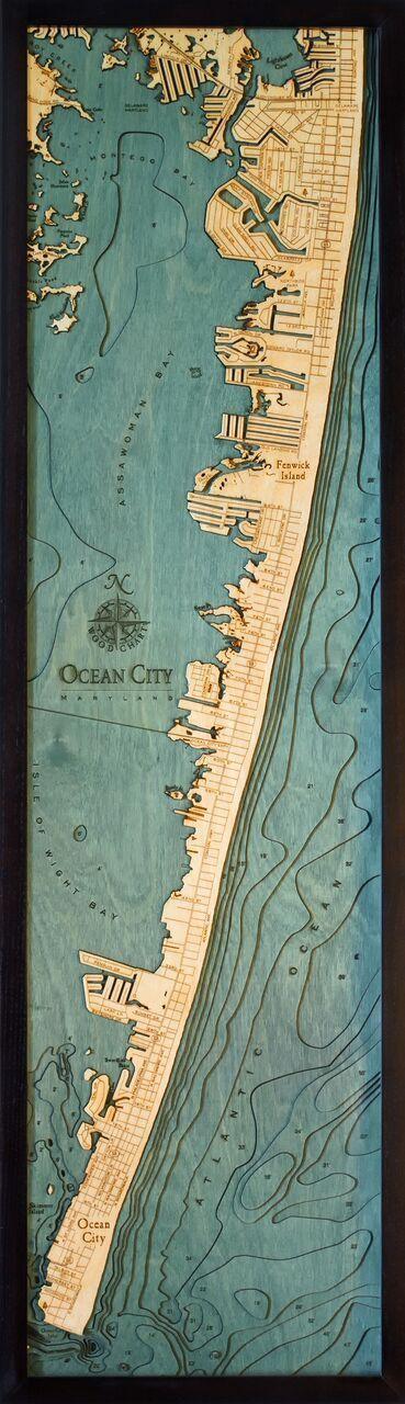 Ocean City, MD Wood Chart