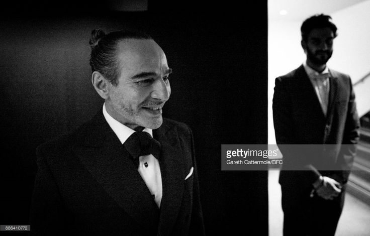 John Galliano is seen backstage during The Fashion Awards 2017 in partnership with Swarovski at Royal Albert Hall on December 4, 2017 in London, England.