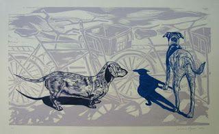 Obra de Luciano Ogura - Gravurista