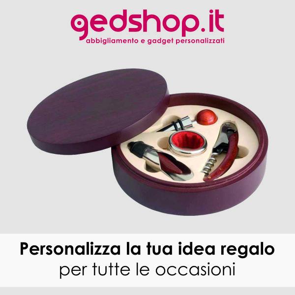 Set vino personalizzati Gadget deluxe, i set degustazione vino  rappresentano dei gadget di alto livello per pubblicizzare la tua azienda e lasciare il segno con un regalo aziendale superlativo.  http://www.gedshop.it/gadget-vino-set-vino