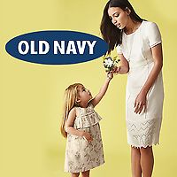 Old Navy Women's & Girls'  Flash Sale W/ 60% Off Dresses & Rompers