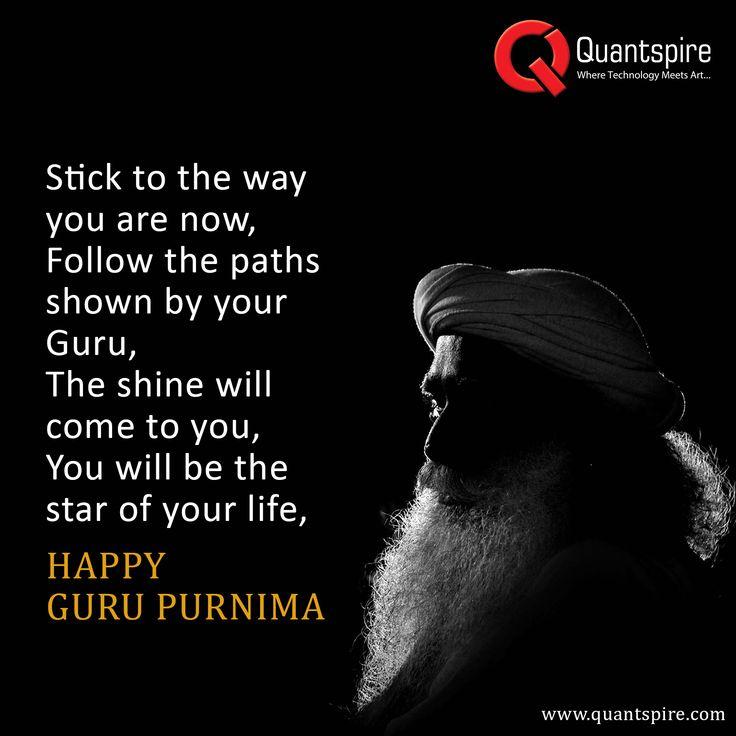 May Guru's #blessings always shower on you, wish you a very Happy Guru Purnima #Wishes #GuruPurnima #Quantspire