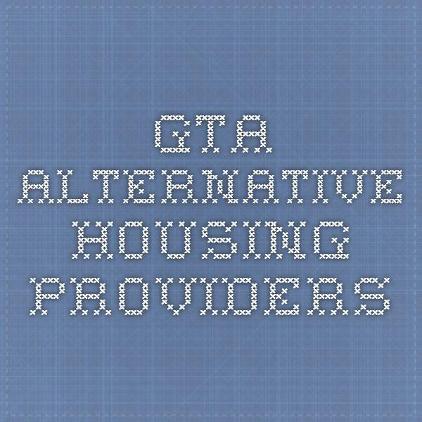 GTA - Alternative Housing Providers