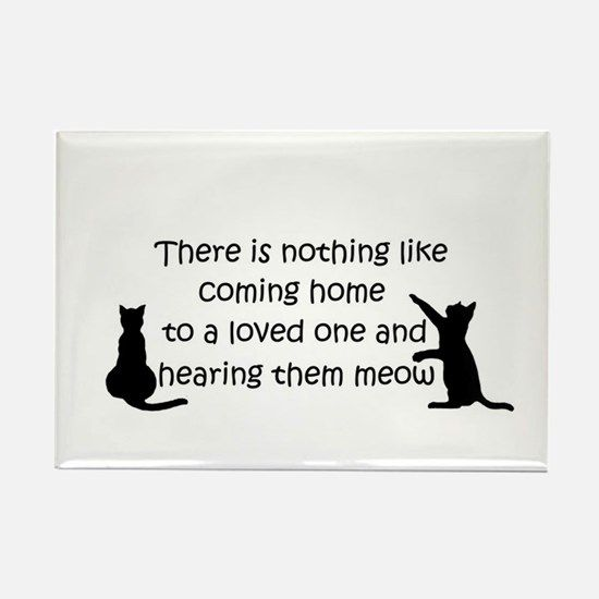 Coming Home to a Cat Magnets $7.50