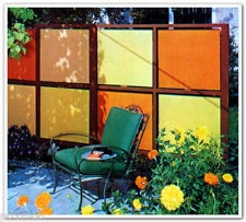 1977 BOOK BUILD MID CENTURY MODERN YARD GARDEN OUTDOOR PROJECTS FURNITURE PLAY
