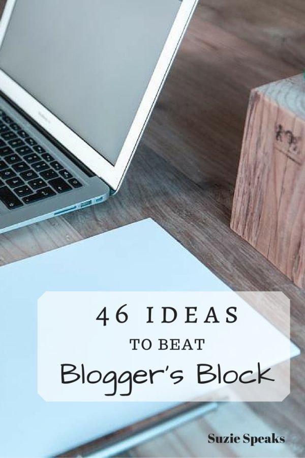 Struggling for your next blog post idea? Here are lots of hints and tips to help...