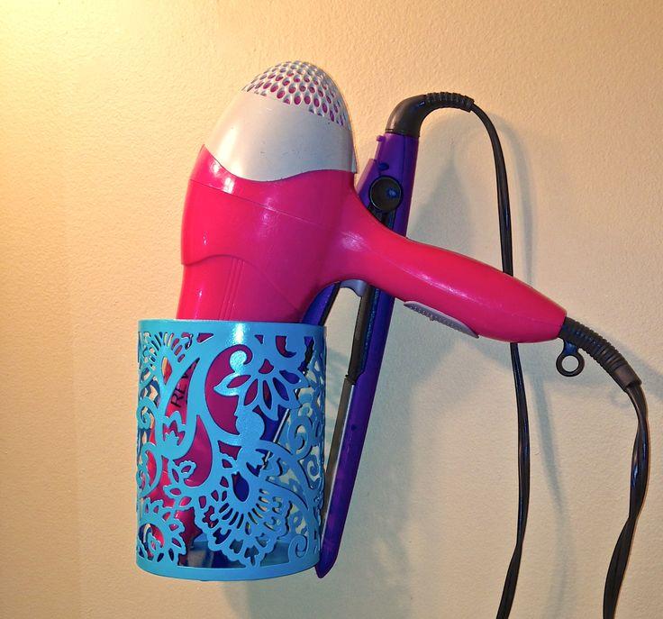 Best 25+ Hair dryer holder ideas on Pinterest   Diy hair ...