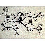 Кованые изделия Макаров и сыновья, вешалка Летучая мышь
