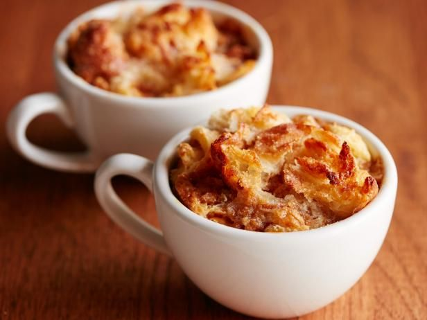 Caramel Bread Pudding for Two