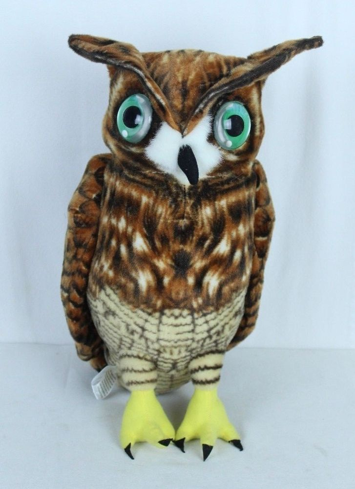 Oliver The Owl 17 Inch Large Owl Stuffed Animal Plush By Via Toy