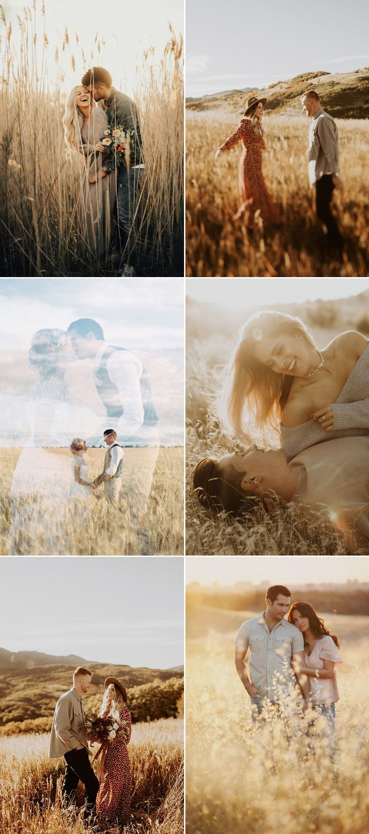 27 Utterly Romantic Field Engagement Photos – #Engagement #Field #Photos #Romant…