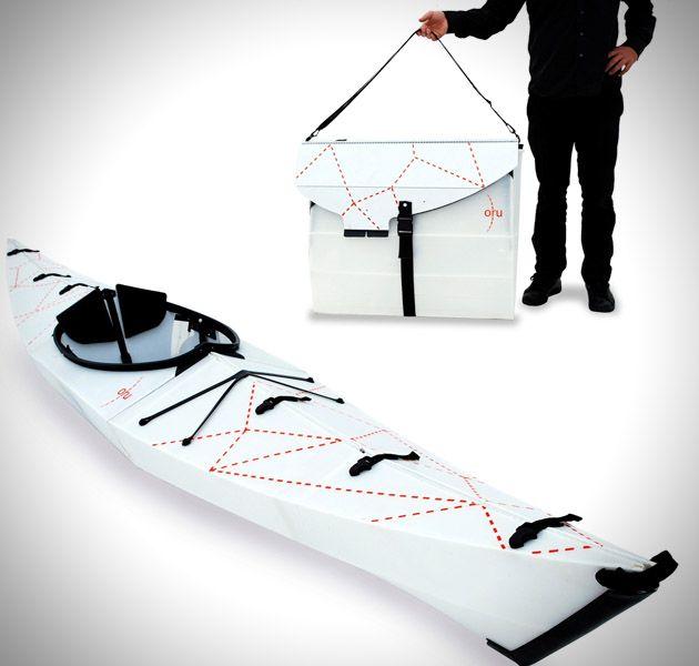Le concepteur de San Francisco Anton Willis, nous propose un kayak à base d'origami vous permettant de vous balader avec n'importe où.