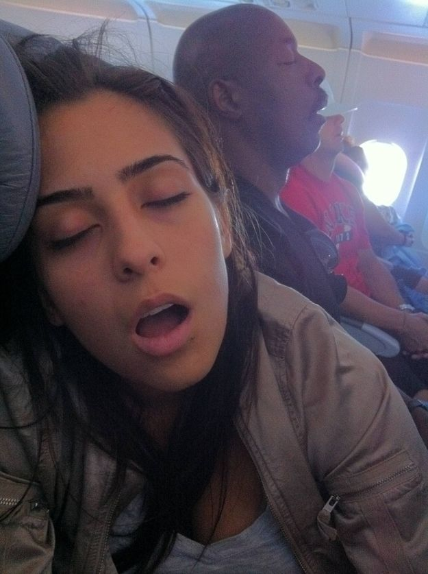 The 12 Stages Of Taking A Red-Eye Flight
