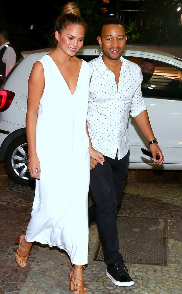 Chrissy Teigen & John Legend from The Big Picture: Today's Hot Pics | E! Online