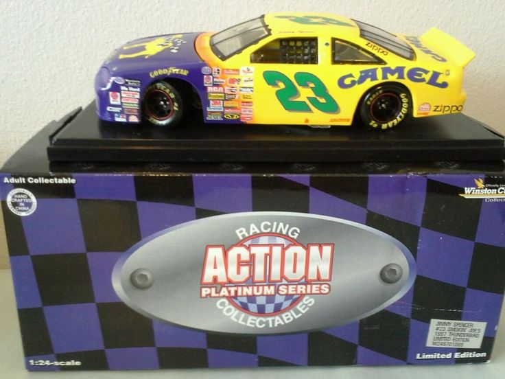 Action 1:24 diecast Jimmy Spencer #23 1997 Ford Smokin Joe #ActionPlatinum #Ford