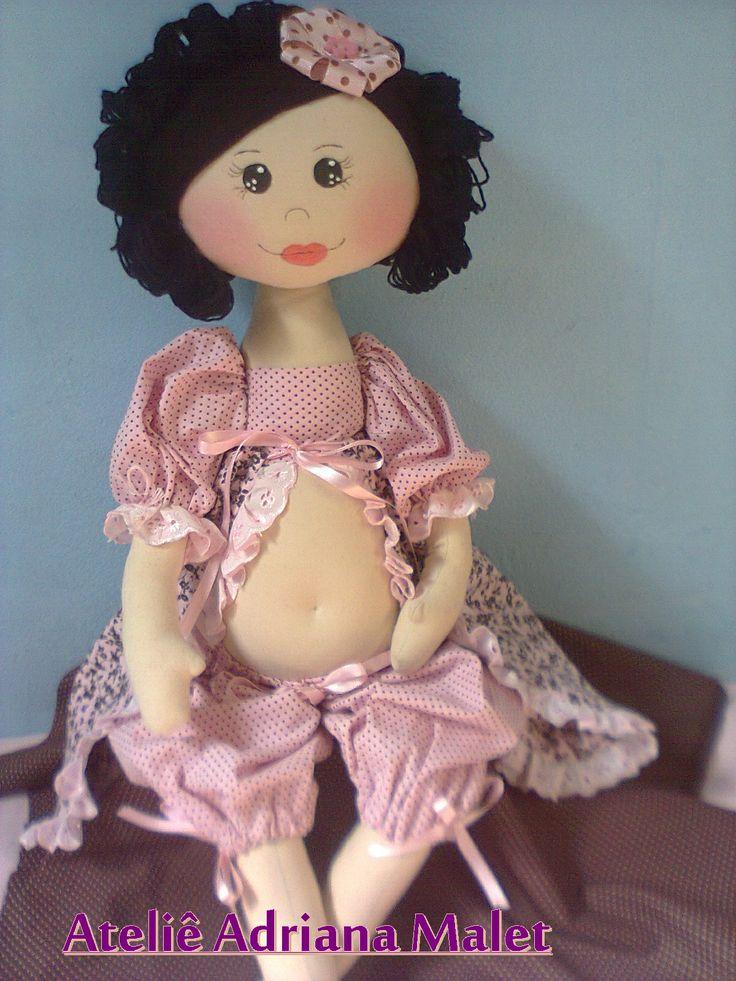 Boneca gravida Ester