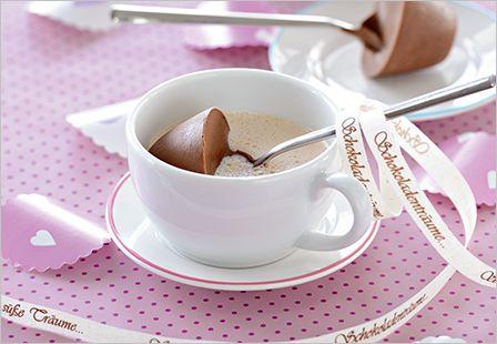 Löffel-Schokoladen-Milch: Bad Reichenhaller