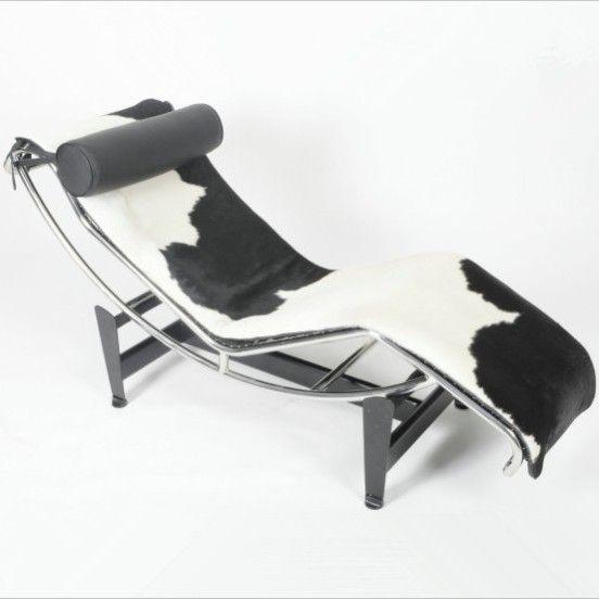 Replica Black And White Pony LC4   Le Corbusier Chair