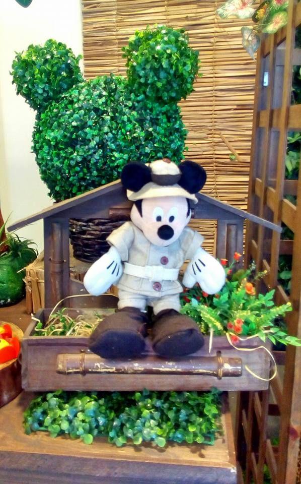 Decoração do Mickey Safari #mickeysafari #safaridomickey #mickey #safari #bethdecora #decoraçãoinfantil #decoraçãodosafari whattsapp 98325-2545