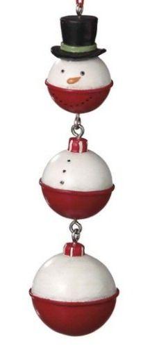 snowman bobber ornament
