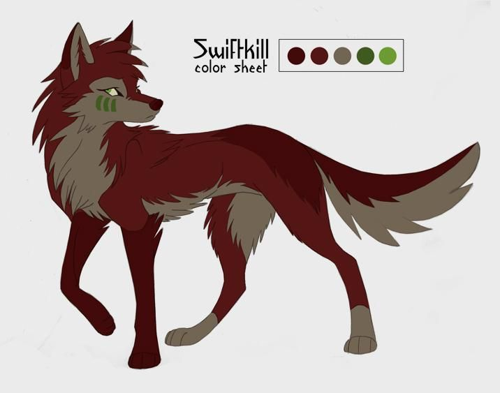 Swiftkill Color Sheet By Kayfedewa On Deviantart Cute Wolf Drawings Wolf Spirit Animal Cartoon Wolf