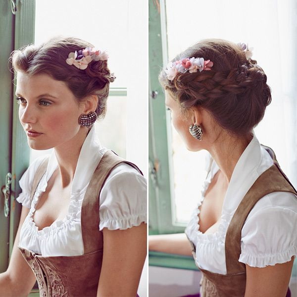 Zopf frisuren wiesn
