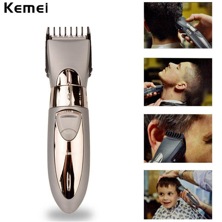 New Rechargeable Waterproof Hair Clipper Beard Electric Hair Trimmer Shaver Body Hair Mustache Shaving Trimmer Haircut 6162