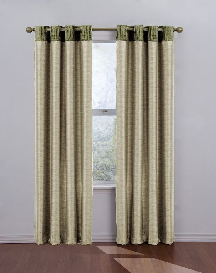 "Eclipse Curtains Venetian Blackout Grommet Window Drape in Natural Size: 52"" W x 95"" L - 11495052X095NA"