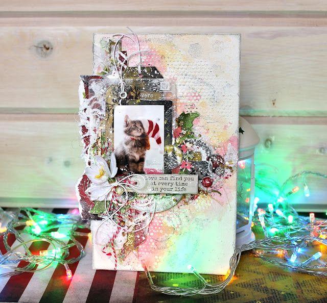 Elena Martynova: Christmas canvas / Рождественский холст