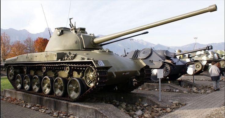 Schweizer Panzer 58