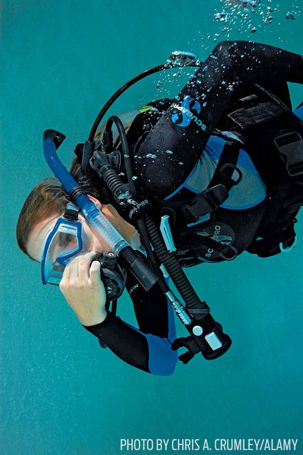 how to clear ears after diving