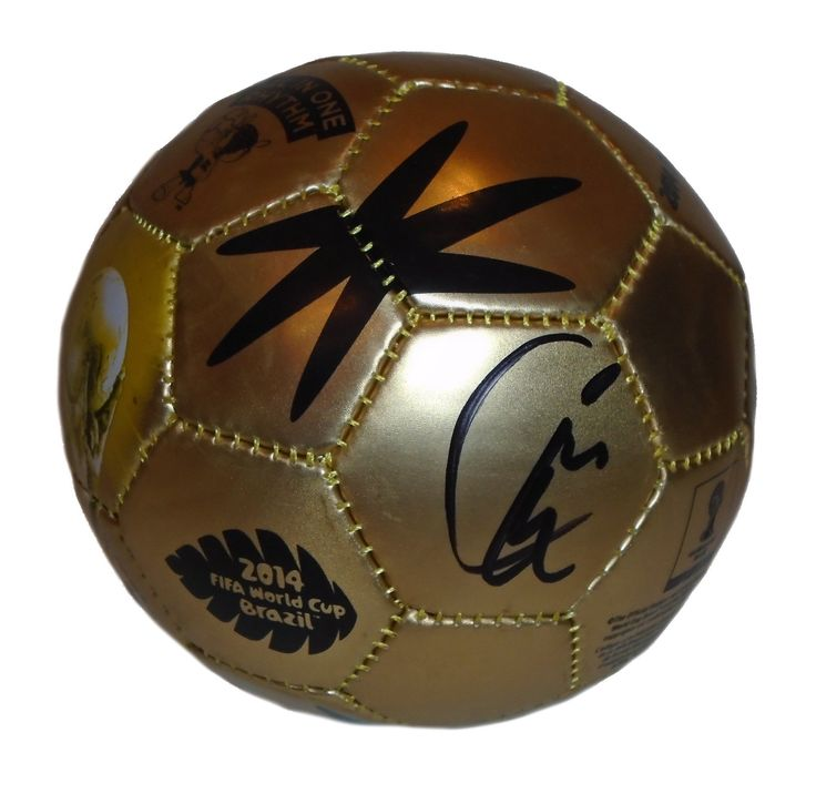 Kyle Beckerman Autographed 2014 FIFA World Cup Gold Mini Soccer Ball, PSA/DNA. Kyle Beckerman Signed 2014 FIFA World Cup Gold Mini Soccer Ball, Real Salt Lake, Colorado Rapids, Miami Fusion, USMNT, PSA/DNA Authentication  This is a brand-new Kyle Beckerman autographed 2014 FIFA World Cup logo gold soccer ball.  The soccer ball is size 2. Kyle signed the soccer ball in black sharpie. The ball includes a PSA/DNA certificate of authenticity, with PSA/DNA authentication certification #X37257…